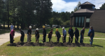Groundbreaking at Ojibwe school