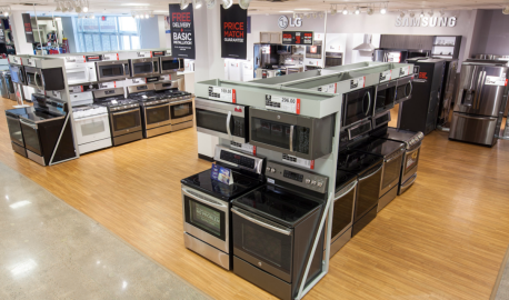 JCPenney appliance showrooms