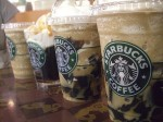 Starbucks iced coffees