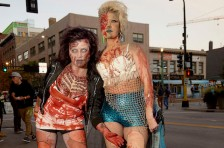 MINNEAPOLIS, MN OCTOBER 17: 2015 Zombie Pub Crawl on October 17, 2015 in Minneapolis, Minnesota.