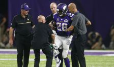 AP Images DO NOT REUSE Adrian Peterson Injured
