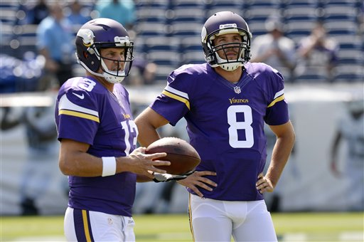 W helps, running game a worry for Vikings