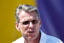 Minnesota Vikings general manager Rick Spielman during the first day of the team's NFL football training camp at Mankato State University in Mankato, Minn. on Friday, July, 29, 2016.(AP Photo/Andy Clayton-King)