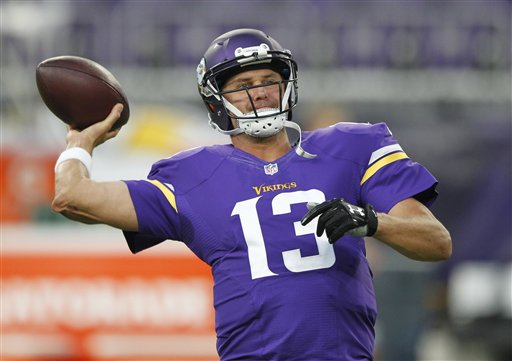 Vikings not ready to name QB vs. Packers