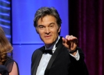 "FILE - This June 16, 2013 file photo shows Mehmet Oz, aka Dr. Oz, accepting the award for outstanding talk show: informative for ""The Dr. Oz Show"" at the 40th Annual Daytime Emmy Awards in Beverly Hills, Calif. Oz is following in the footsteps of TV personalities like Oprah Winfrey, Rachael Ray and Martha Stewart by launching his own women's magazine. The Emmy Award-winning host has teamed up with Hearst to release the lifestyle magazine. In a statement, Oz said it ""will provide women with everything they need to feel inspired and live a long, healthy, joyful life."" Two trial issues will be released in the first quarter of 2014.  (Photo by Chris Pizzello/Invision/AP, file)"