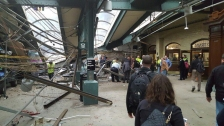 /// Twitter user Cephster has given permission for AP to use this photo of the train crash in Hoboken, New Jersey on Sept. 29, 2016.  [cid:6F1CAFC1-A614-402E-BBD0-B7F77178FD24] -- Michael Sisak Associated Press o) 215-446-6640 c) 215-756-5830 Twitter @mikesisak
