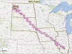 Route of Dakota Access Pipeline