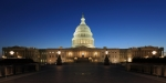 us-capitol-house-senate-dusk-evening-night